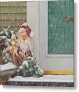 Winter - Christmas - Oh Oh Brrr Metal Print