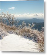 Winter Above The Land Metal Print