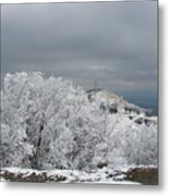 Winter At Shipka Metal Print