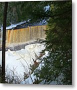 Winter At Tahquamenon Metal Print