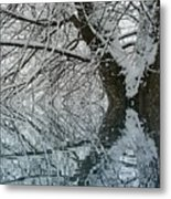 Winter Blitz Metal Print