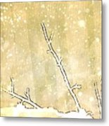 Winter Born Metal Print
