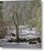 Winter Colors On The Klawock Metal Print