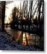 Winter Creek H B Metal Print