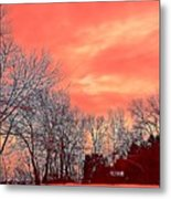 Winter Day 2 Metal Print