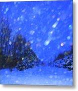Winter Diamonds Metal Print by Julie Lueders