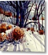 Winter Drifts Metal Print