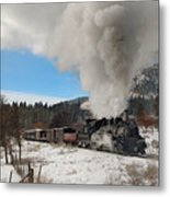 Winter Freight Special Metal Print