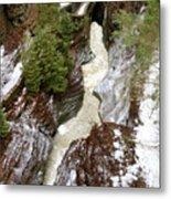 Winter Gorge Metal Print