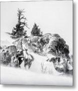 Winter Hwy 40 Metal Print