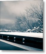 Winter Idyl Metal Print