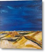 Winter Impression Of Sylt Metal Print