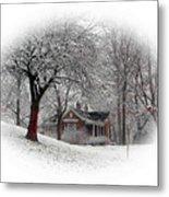 Winter In Bridgeton Metal Print