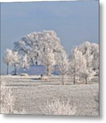 Winter In Canada Metal Print