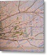 Winter In Eden Park Metal Print