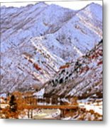 Winter In Grand Junction Metal Print