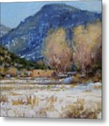 Winter In New Mexico Metal Print