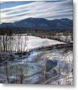 Winter In North Conway Metal Print by Eric Gendron