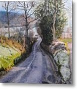 Winter In North Wales Metal Print by Harry Robertson