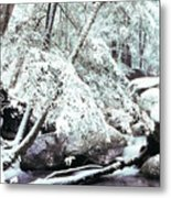 Winter In Shenandoah Metal Print by Thomas R Fletcher