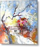 Winter In Spain Metal Print