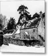 Winter In The Cotswolds Metal Print