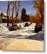 Winter In The Highlands Metal Print