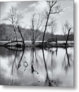 Winter Island Metal Print