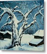 Winter Landscape 571008 Metal Print