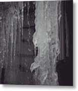Winter Memories-ice Metal Print