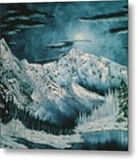 Winter Moon 2 Metal Print