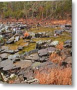 Winter Morning On Marble Creek 1 Metal Print