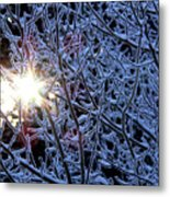 Winter Morning Sunrise Metal Print
