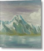 Winter Mountains Metal Print