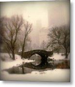 Winter Nostalgia Metal Print