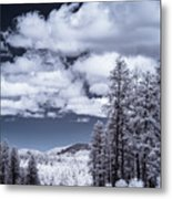 Winter On 89a Metal Print