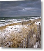 Winter On Cape Cod Metal Print