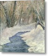 Winter On Stormcreek Metal Print