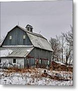 Winter On The Farm 2 Metal Print