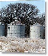 Winter On The Prairie Number 1 Metal Print