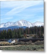 Winter Park Colorado Metal Print