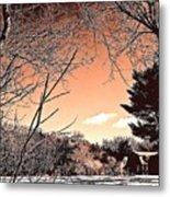 Winter Pastel Metal Print