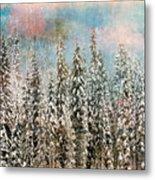 Winter Pastels Metal Print