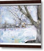 Winter Playgound II Metal Print