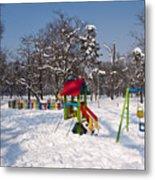 Winter Playground Metal Print