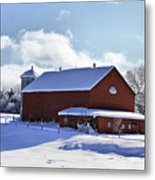 Winter Red 2010 Metal Print