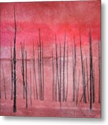 Winter Red  7913red Metal Print