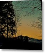 Winter Respite Metal Print