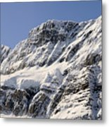 Winter Rockies Metal Print