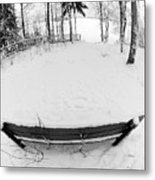 Winter Seat 1 Metal Print